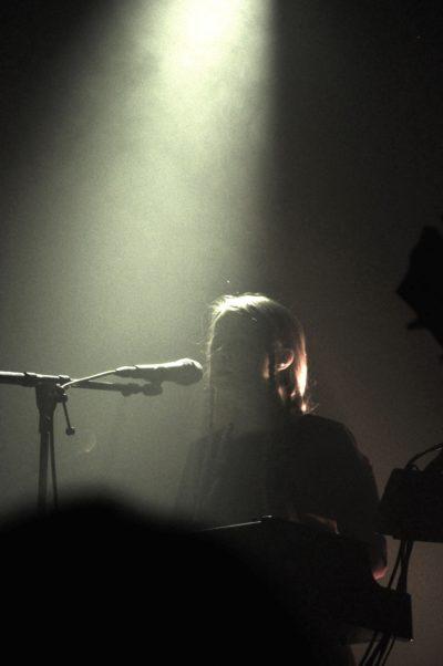 Anna von Hausswolff 2018 bei ihrem Konzert im Beatpol Dresden.