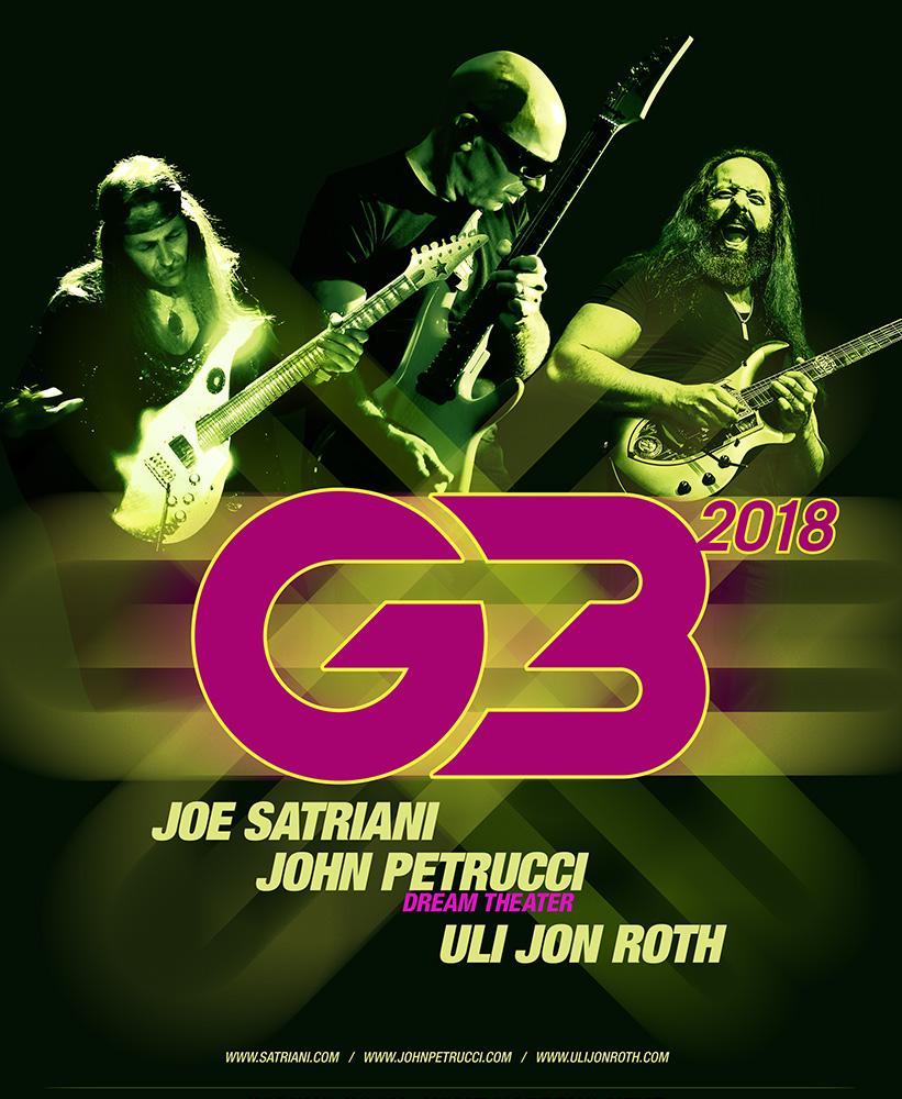G3 Tour 2018